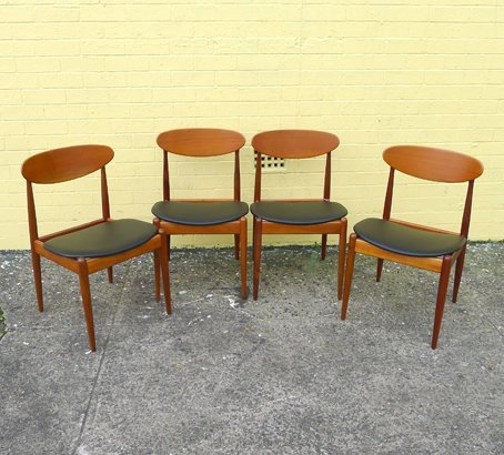 Parker Dining Chairs Collectika Vintage And Retro Furniture Shop