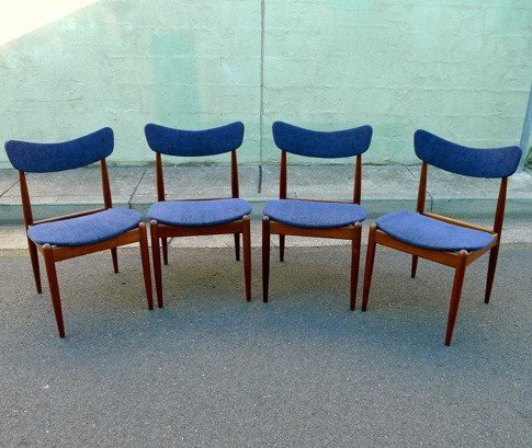 Parker Dining Chairs Collectika Vintage And Retro