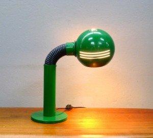 Retro  Green Eyeball Lamp