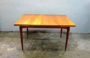 Vintage Summertone Teak Dining Table