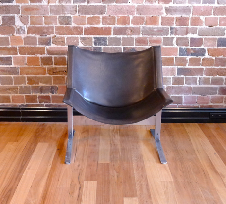 Clement Meadmore Sling Chair Collectika Vintage And