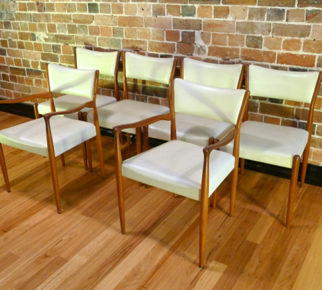 Parker Dining Chair Set Collectika Vintage And Retro