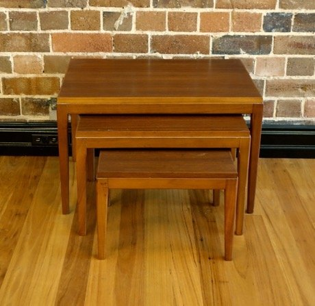 Vintage Nest Of Coffee Tables Collectika And