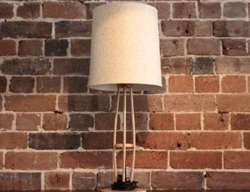 Bentwood Desk Lamp