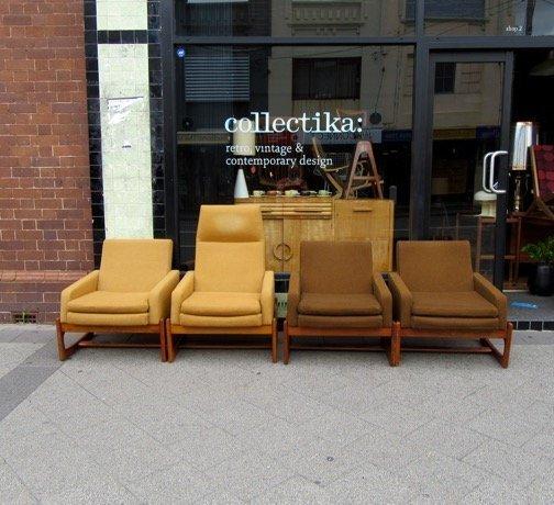 Gerald Easden Module Furniture Armchairs Collectika