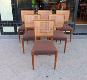 rattan back dining chairs 1