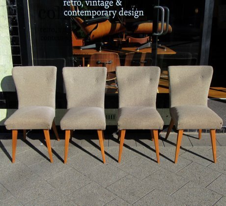 Paul Kafka Style Dining Chairs Collectika Vintage And