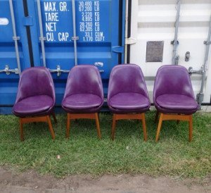 th brown purple chairs 1