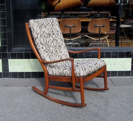 Parker knoll rocking chair collectika vintage and retro furniture shop - Knoll rocking chair ...