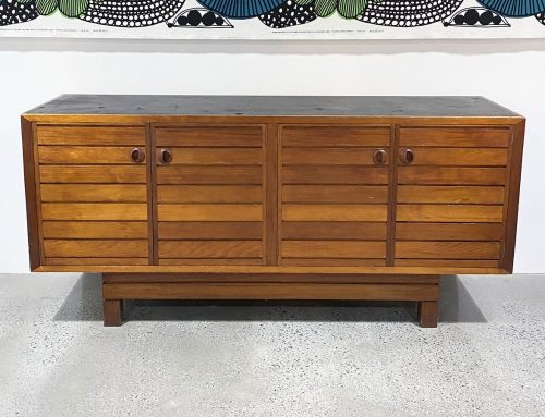 Vintage 4 door sideboard