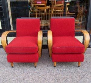 art deco armchairs 1