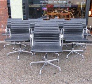 eames aluminium group chairs 1