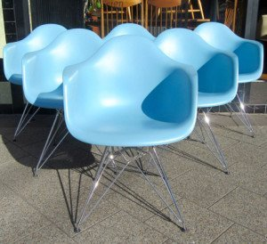 vitra eames dining chairs 1