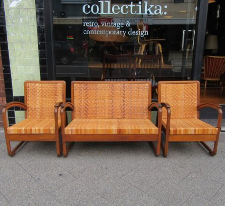 dutch colonial lounge suite collectika vintage and retro furniture shop. Black Bedroom Furniture Sets. Home Design Ideas