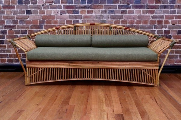 Vintage Cane Daybed Collectika Vintage And Retro