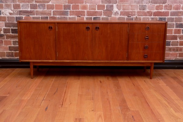 Parker 3 Door Sideboard Collectika Vintage And Retro Furniture Shop