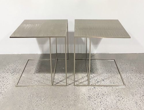 Rodolfo Dordoni Leger side tables
